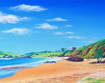 Acrylic Painting Canvas Art Beach Painting Ocean Painting Original Art Canvas Wall Art Realist Art Wall Decor Beach House Decor Australia