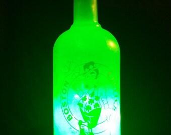 Boston Celtics bottle light