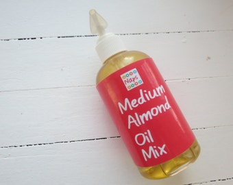 Medium Almond Oil Mix 8oz
