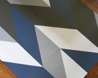 Herringbone Floorcloth