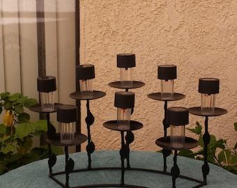 Refurbished 8 lamp solar light