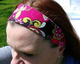 Reversible woman's headband
