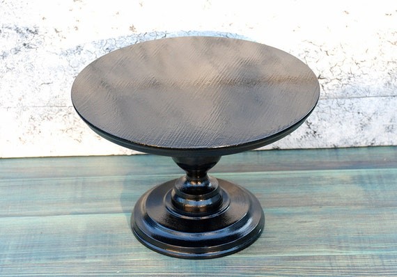 black pedestal wedding cake stand black cake stand wooden cake stand wedding cake stand wood 11872
