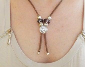 Cowboy Necklace Style,Portuguese Natural Cork