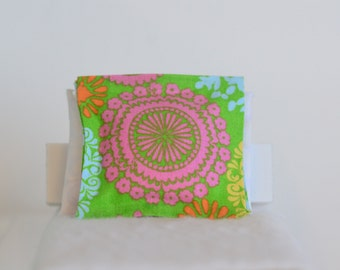 Miniature Pink Burst Throw Pillow 1/12 scale