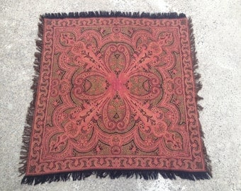 Unique Antique Table Rug Related Items Etsy