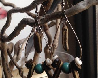 Seeds of Flamboyant earrings