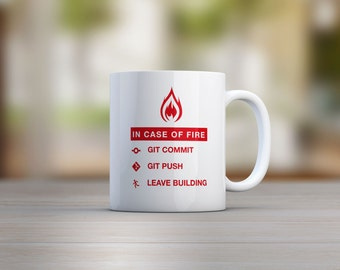Git Commit Mug