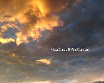 Salem Ma Sunset. In Landscape.