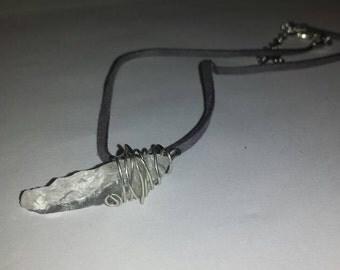 Sea Glass Wrap Necklace