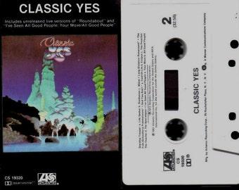Classic Yes - Cassette - CS 19320 - Atlantic - 1981.