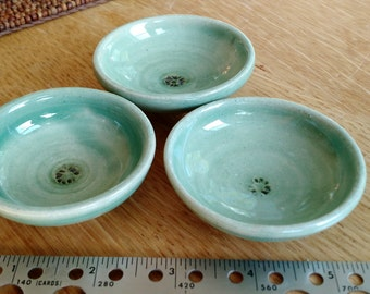 TWO made to order handmade soy sauce dishes
