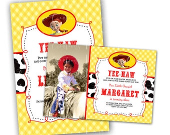 Toy Story & Matching Blank Digital Thank You Card Also