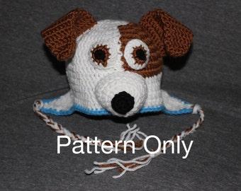 Crochet Pattern Jack Russell Dog : Pug mix Etsy