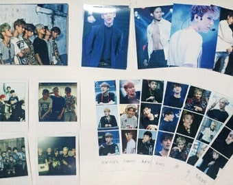 Got7 Group Photo, Polaroid, and Photo Strip Pack