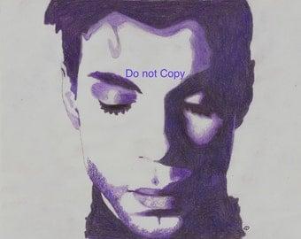 Purple Prince Face