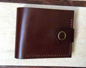 Men's leather wallet. RiseAbove