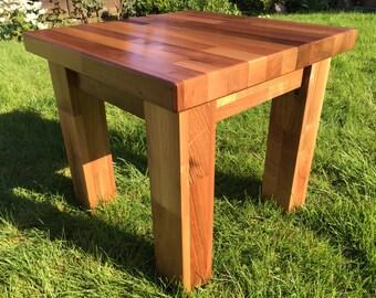 Solid Walnut Side Table