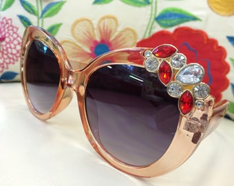The Bling Sunglasses with Rhinestones  # 5