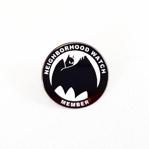 Neighborhood Watch Memeber lapel  pin