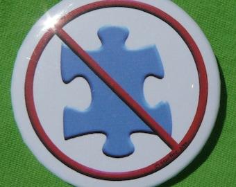 No More Puzzle Pieces! (button)