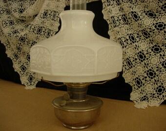 Milk Glass Lamp Shade