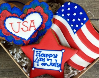 4th of July Сookie Set