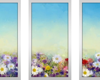Sunshine and Daisies - Framed Plexiglass Wall Art