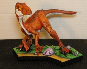 Velociraptor Dinosaur Statue (Model Kit) Read Description