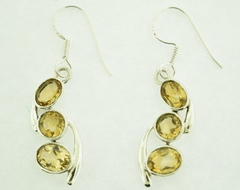 Citrine Gemstone in Sterling Silver