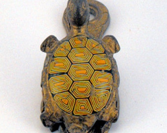 Solid Brass Turtle Shaped Paper Holder