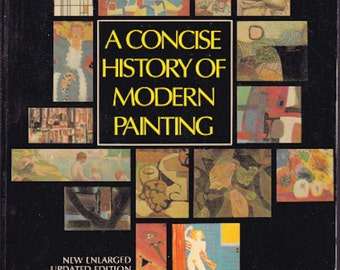 A Concise History of Modern Painting by Herbert Read 1974