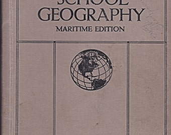 Nelsons School Geography Maritime Edition of 1929