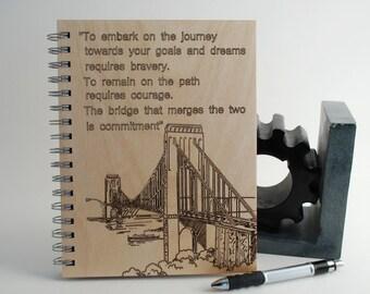 Wood Spiral Journal... Bridge