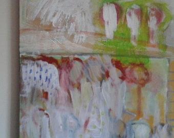 Abstract  expresionism, painting, acrylic, canvas, wall art