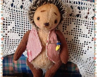Teddy Hedgehog Stuffed hedgehogs Stuffed teddy