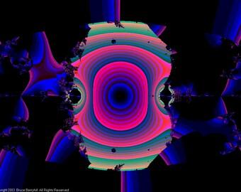 FRACTAL #17963 (Trippy ChromaDepth 3D Digital Download. 1024x768)