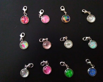Jamily Jewel Unicorn Charms