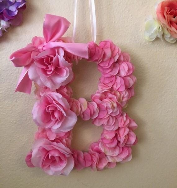 Shop Floral Monograms At Littlebrownnest Etsy Com: Floral Monogram Letter B By LisaAnnIglesias On Etsy