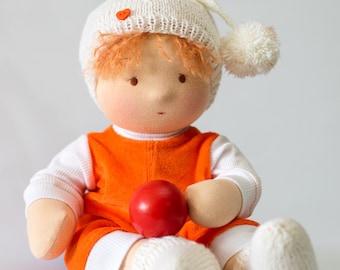 SOLD! SOLD!  Waldorf doll, Steiner doll, 16 inch - 40 cm