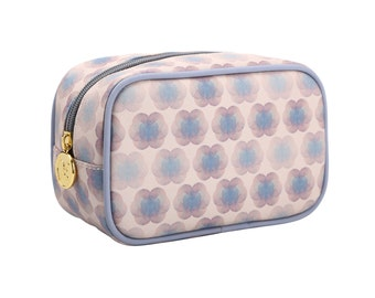 TaylorHe Make-up Bag Cosmetic Case Toiletry Bag Zipped Top Kaleidoscopic Pattern.