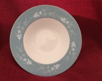"Royal Doulton Reflection Soup Bowls Rimmed 8"""