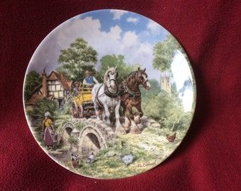 Life on the Farm collection by John L Chapman and Wedgwood, Off to Work