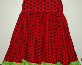 RTS 24m watermelon dress
