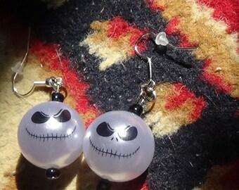 Jack Skellington 20m Beaded Earrings Nightmare Before Christmas
