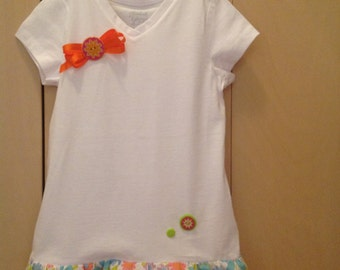 XS 4/5 Girls Embellished T-Shirt