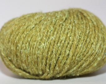 Elsebeth Lavold Silky Wool XL, color #018, lot 64  Yellow Green