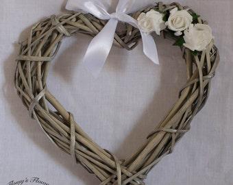 Large Wicker Heart