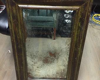 "ANTIQUE MIRROR 40"" x 60"" (REPRODUCTION)"