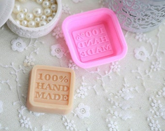 100% Hand Made Silicone Molds (Set of 2)